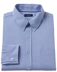 Croft Barrow Striped Easy Care Oxford Shirt Big Tall