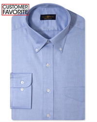 Club Room Estate Classic Fit Wrinkle Resistant Dress Shirt Only At Macys