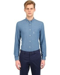 Façonnable Slim Fit Stretch Cotton Oxford Shirt