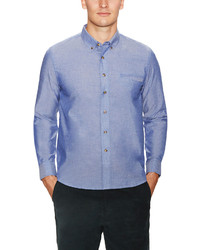 General Assembly Solid Poplin Sportshirt