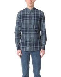 Gitman Brothers Gitman Vintage Long Sleeve Archive Madras Shirt