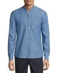 The Kooples Long Sleeve Cotton Shirt