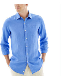 Claiborne Long Sleeve Linen Shirt