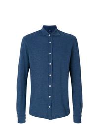 Barba Long Sleeve Polo Shirt