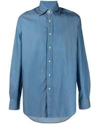 Tagliatore Long Sleeved Cotton Shirt
