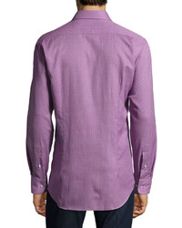 Etro Micro Pattern Sport Shirt