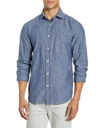 Hartford Paul Regular Fit Button Up Shirt