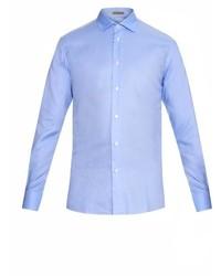 Bottega Veneta Roma Collar Oxford Shirt