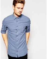 Boss Orange Shirt In Oxford Cotton