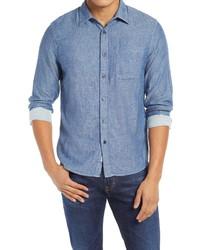 Kato Slim Fit Double Gauze Button Up Shirt