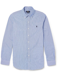 Polo Ralph Lauren Slim Fit Gingham Checked Cotton Shirt