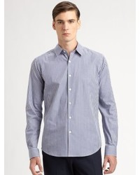 Theory Sylvain Amicable Button Down Shirt
