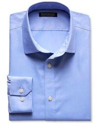 Banana Republic Tailored Slim Fit Non Iron Solid Oxford Shirt