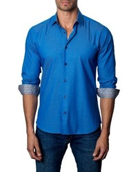 Jared Lang Trim Fit Sport Shirt