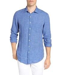 Warwick junction stripe linen sport shirt medium 8672028