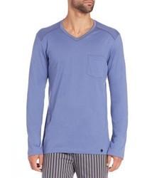 Hanro Alphonse Long Sleeved Cotton T Shirt