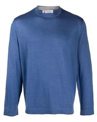 Brunello Cucinelli Cashmere And Silk Blend Crew Neck T Shirt