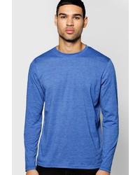 Boohoo Long Sleeve Marl T Shirt