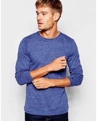 Esprit Long Sleeve Top In Blue Marl