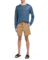 Vince Regular Fit Linen Cotton T Shirt