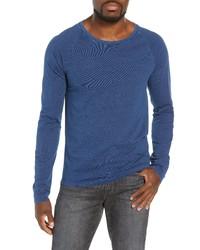 Frame Slim Fit Long Sleeve Raglan T Shirt