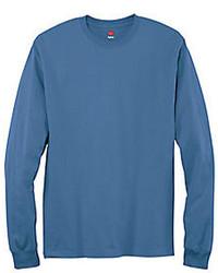 Hanes Tagless Long Sleeve T Shirt
