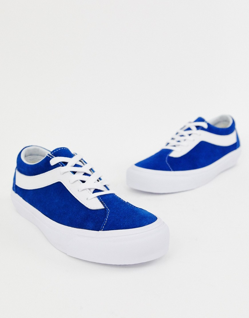 Vans Bold Trainers In Blue Vn0a3wlpuld1
