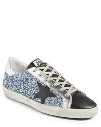 Golden goose superstar glitter sneaker medium 3943674