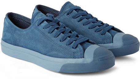 57c77ddc1de8 ... Blue Low Top Sneakers Converse Jack Purcell Nubuck Sneakers ...