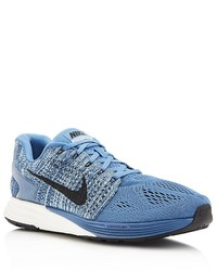 Nike Lunarglide Lace Up Sneakers