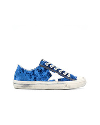 Golden Goose Deluxe Brand Velvet Star Sneakers