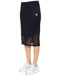 adidas Osaka Piqu Mesh Midi Skirt