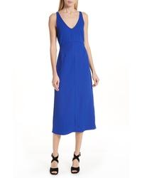 9545cd47497 Blue Midi Dresses for Women | Women's Fashion | Lookastic.com
