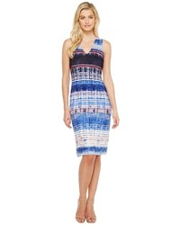 Karen Kane V Neck Midi Dress Dress