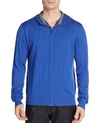 Tailorbyrd Wool Zip Sweater
