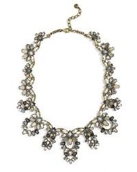 BaubleBar Naira Crystal Collar Necklace