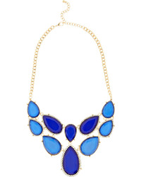 Kenneth Jay Lane Gold Plated Crystal Necklace