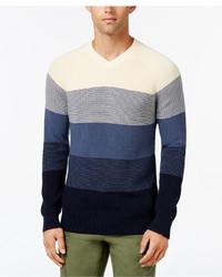 Tommy Hilfiger Big Tall Oakley Ombr Sweater