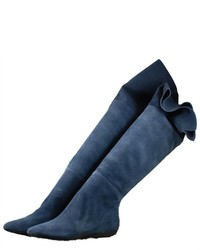 Blue over the knee boots original 4421822