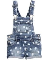 H&M Denim Bib Overall Shorts Denim Bluestars Kids