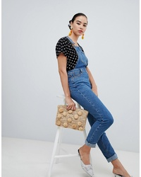 New Look Slim Fit Dungarees