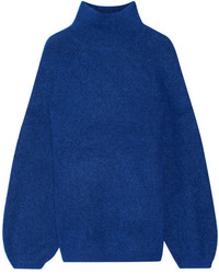 Balero knitted turtleneck sweater royal blue medium 3640512