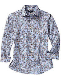 Daniel Cremieux Cremieux Long Sleeve Paisley Print Woven Shirt