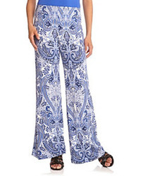 Paisley pull on pants medium 89860