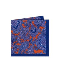 Ted Baker London Paisley Wool Pocket Square