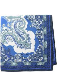Etro Printed Silk Pocket Square