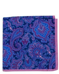 Ted Baker London Paisley Silk Pocket Square