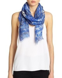 Etro Floral Paisley Scarf
