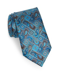 Ermenegildo Zegna Quindici Quindici Paisley Silk Tie
