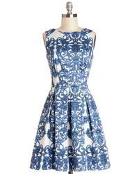 Closet uk aint we haute fun dress in paisley medium 117305